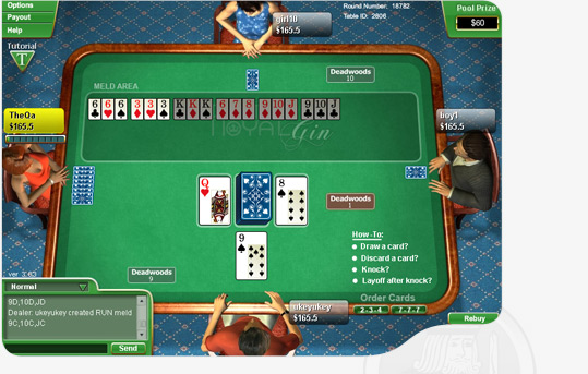 how to win gin rummy